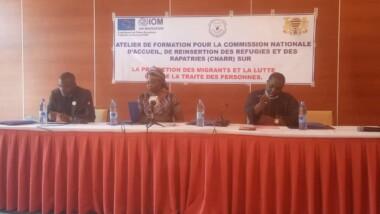 Tchad : l'OIM  forme des acteurs impliqués dans les questions migratoires
