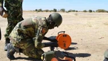 Tchad: 10 militaires formés à la destruction des engins explosifs improvisés par l'armée française