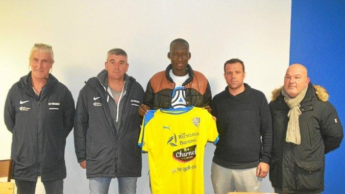 Tchad : Brahim Ngaroudal est la nouvelle recrue de Saint-Pierre Milizac, club français