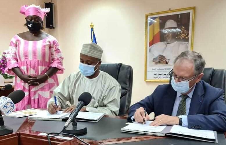 Partenariat France-Tchad : signature d'une conventionde financement dans le secteur de la santé
