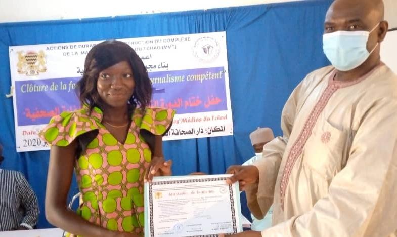 Tchad : clôture de la formation des journalistes filles et jeunes femmes