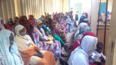 Guéra: les femmes membres des groupements et associations de la province formées sur la fabrication de la farine enrichie