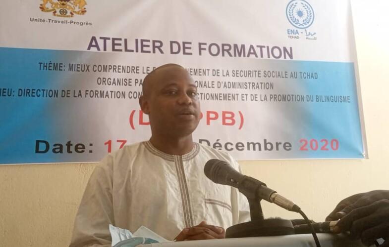 Tchad : le personnel de l'ENA en formation sur la sécurité sociale