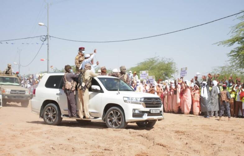 Tchad : la ville de Moussoro accueille le président Déby
