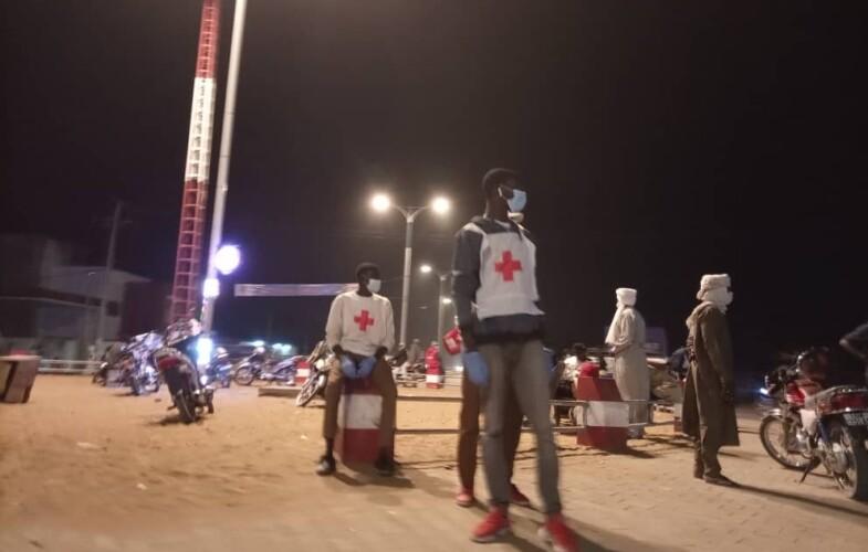Réveillon de Noël: agents de sécurité et de la Croix-Rouge déployés dans les ronds-points de la capitale