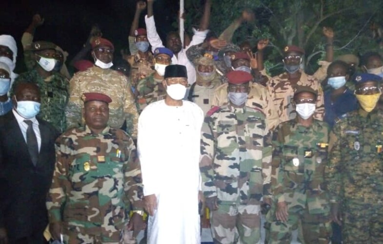 Guéra: célébration du réveillon du nouvel an au camp militaire de Mongo