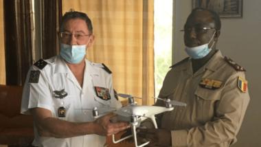 Tchad : des drones « Phantom IV », offerts aux renseignements militaires par la France