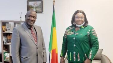 L'ambassadrice du Tchad au Mali échange avec les autorités maliennes sur  la Conférence nationale souveraine et la refondation de l'Etat tchadien