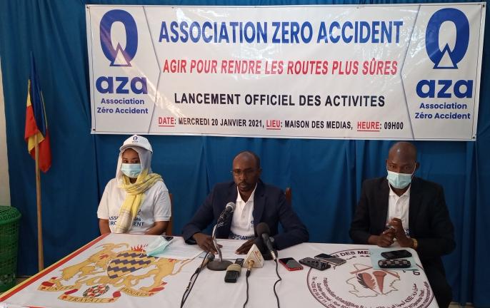 Tchad: l'association AZA naît pour lutter contre les accidents de la route
