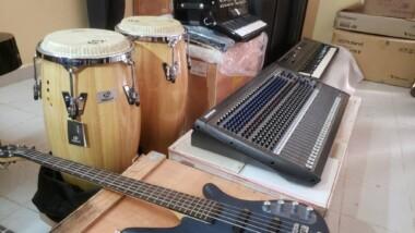 Tchad : L'ambassade de Chine au Tchad fait un don de matériels musicaux à l'orchestre national