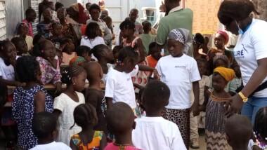 Tchad: Bolloré fête la Saint Sylvestre avec les orphelins de la FAFED
