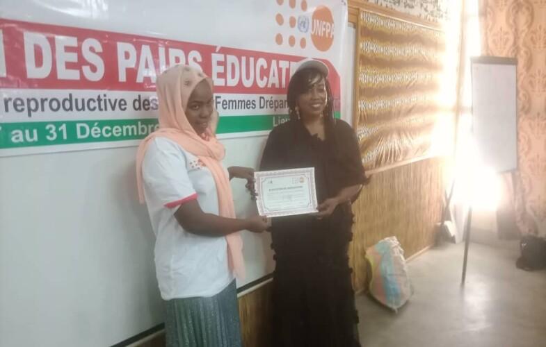 Tchad : 20 enfants drépanocytaires formés sur la santé sexuelle et reproductive