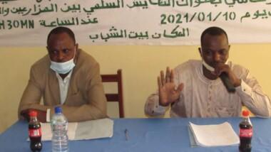 Mongo : la cohabitation pacifique entre agriculteurs et éleveurs au centre d'une conférence-débat