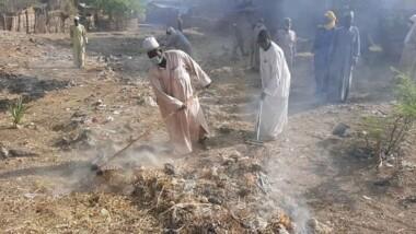 """قيرا: عملية تنظيف شملت عدد من الأحياء بمدينة """"مونقو"""""""