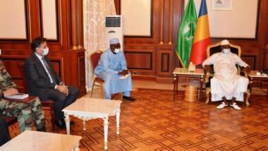 Crise libyenne : le Maréchal du Tchad accorde une audience au ministre de la Défense de ce pays