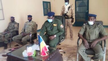 تشاد: المدير العام لقوات الدرك الوطني في مهمة تفتيش إلى سيلا