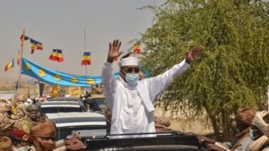 Idriss Deby Itno est à Abéché