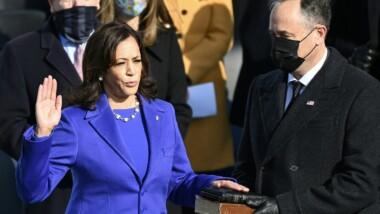 Kamala Harris devient la première femme vice-présidente de l'histoire des États-Unis
