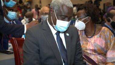 G5 Sahel : le président de la  Commission de l'Union africaine,  Moussa Faki  est à N'Djaména