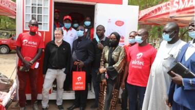 Airtel Tchad soutient le gouvernement dans son objectif d'inclusion numérique