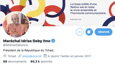 """تشاد: وأخيراً علامة التوثيق تظهر في حساب """"مشير تشاد"""" على """"تويتر"""""""