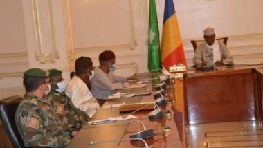G5 Sahel : réunion de prise de contact avec le président en exercice