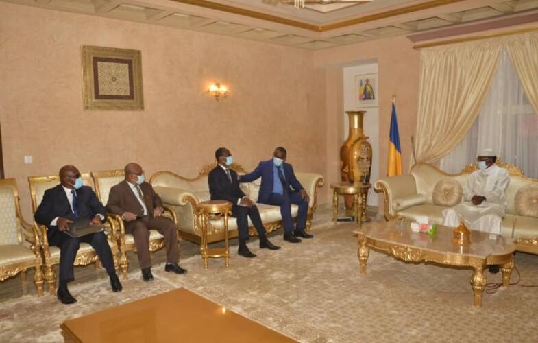 Le chef de l'Etat reçoit un émissaire du président Ouattara