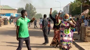 تشاد: المتظاهرون في مواجهة الشرطة