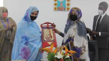 Tchad : la  Première dame mauritanienne visite la Fondation Grand Cœur