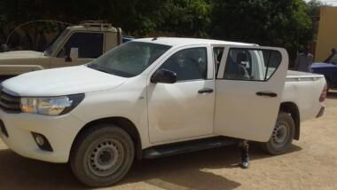 Le véhicule du DG du ministère de la Justice volé à N'Djaména, et retrouvé dans le Batha