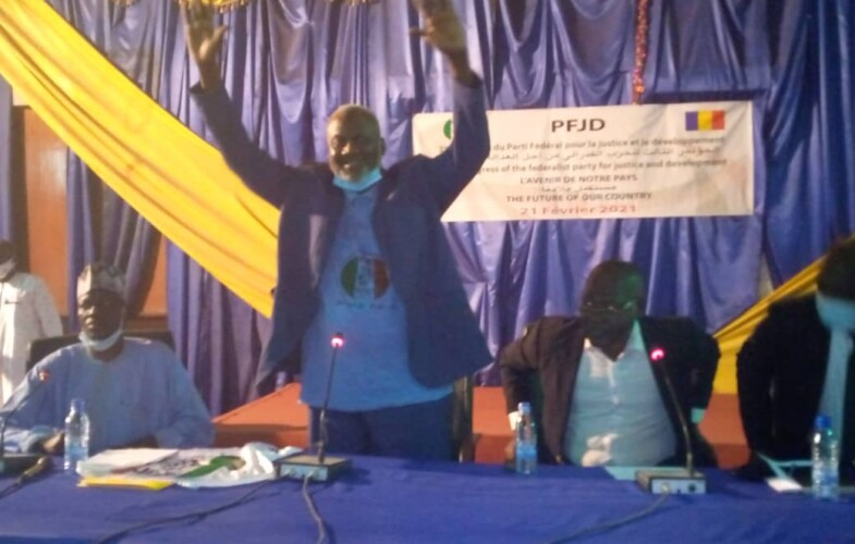 Présidentielle : Mahmoud Ali Mahmoud du PFJD est investi candidat