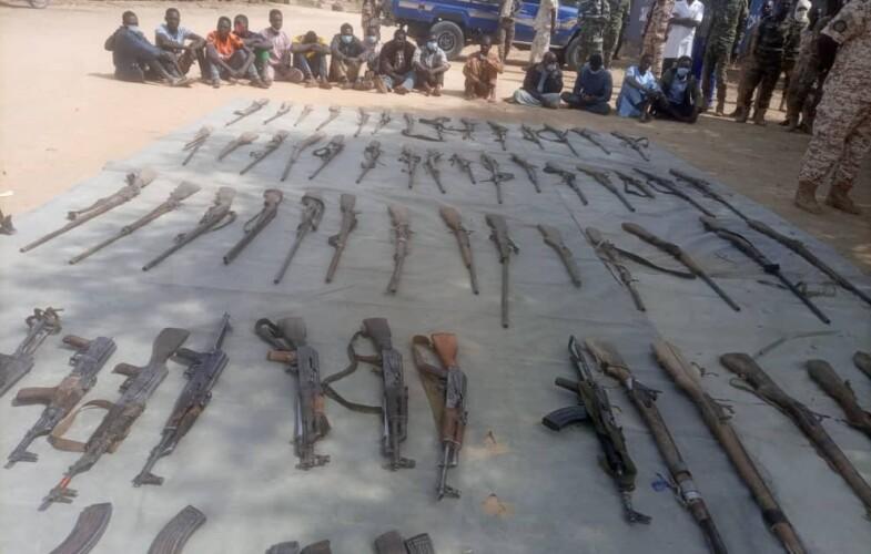 Tchad : 15 présumés malfrats présentés à la presse