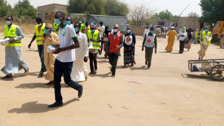 Tchad : la JADES lance une campagne de sensibilisation contre la Covid-19 dans le 4ème arrondissement