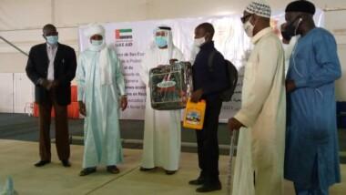 Tchad : le gouvernement et l'ambassade des Emirats Arabes Unis soutiennent des victimes d'inondation