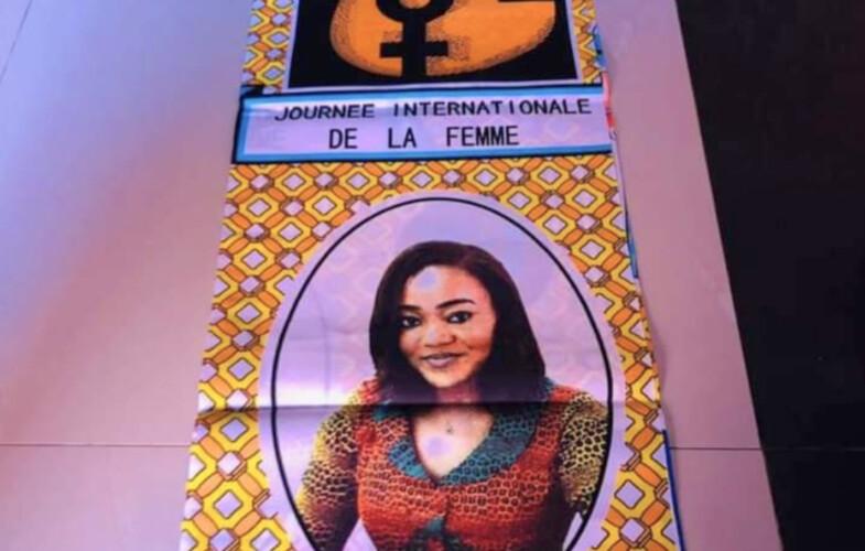 Le tribunal de N'Djamena interdit la vente des pagnes portant l'image de la ministre de la femme