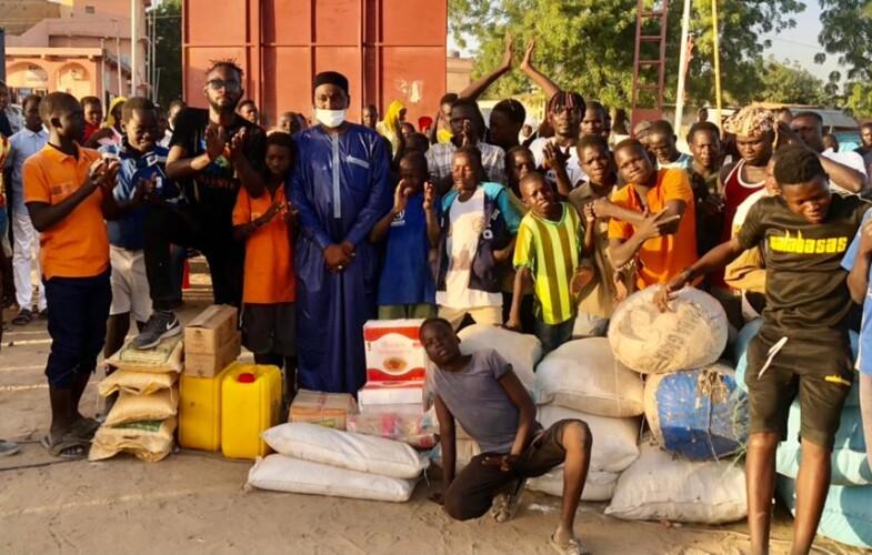 Tchad : la société Djamous Fils assiste des enfants démunis avec des vivres