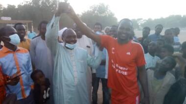 Batha : un match de football en signe de cohabitation pacifique