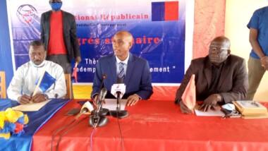 Présidentielle : Mahamat Adoum est investi candidat du PNR