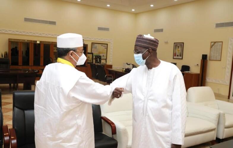 Mahamat Saleh Annadif  fait ses adieux au Premier ministre malien