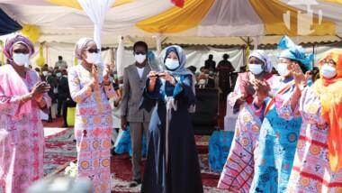 Senafet 2021: la Première dame Hinda Deby Itno honorée par les femmes