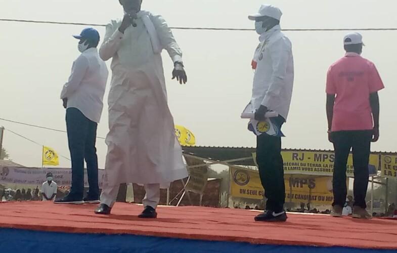 Présidentielle 2021 : A Massakory, Idriss Déby Itno prône l'unité nationale
