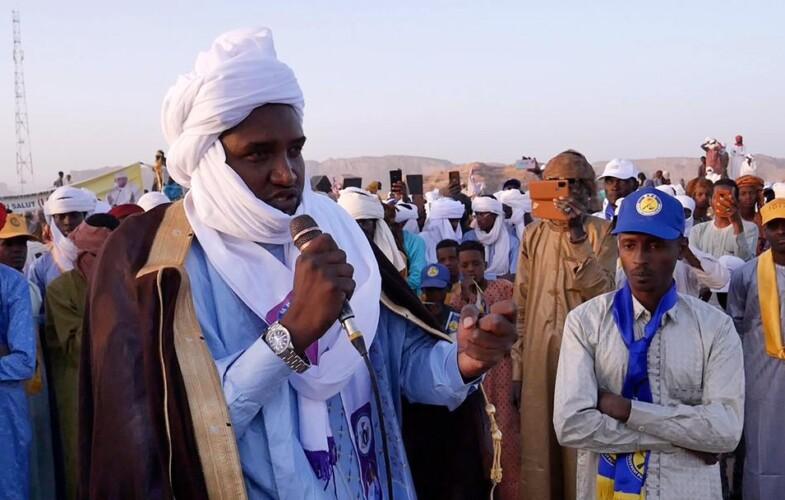 Présidentielle 2021 : Mahamat Abali Salah est dans le Tibesti pour  le triomphe du  candidat de consensus