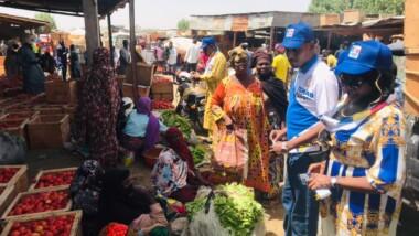 """Retrait des cartes d'électeur : la plateforme """"Le Tchad D'abord"""" en sensibilisation dans les arrondissements de N'Djamena"""