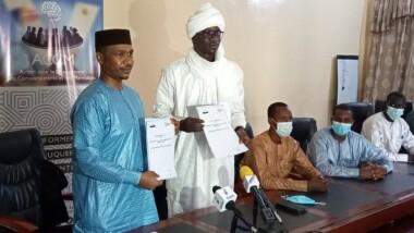 Signature d'une convention pour un mémorandum d'entente entre le CNJT et l'ACCM