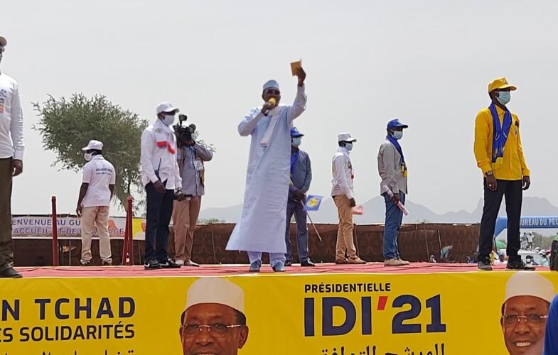 """""""Nous avons avec les fils du Guéra amené la démocratie dans ce pays"""", Idriss Deby Itno"""