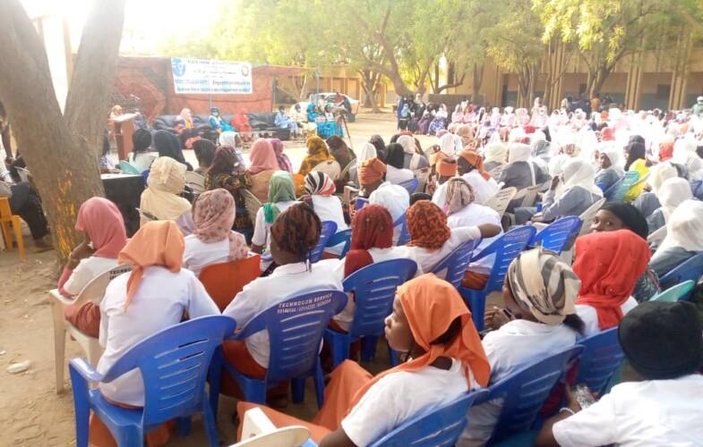 """SENAFET 2021 : la plateforme """"Le Tchad d'abord"""" lance une conférence débat avec les élèves du Lycée Féminin"""