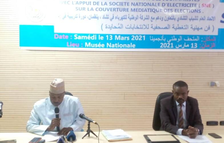 Tchad : l'UGJT forme les journalistes sur la couverture médiatique en période électorale