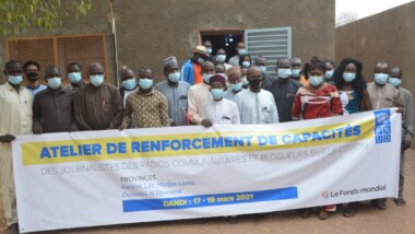 Tchad : des professionnels des médias  formés pour mieux sensibiliser contre la Covid-19