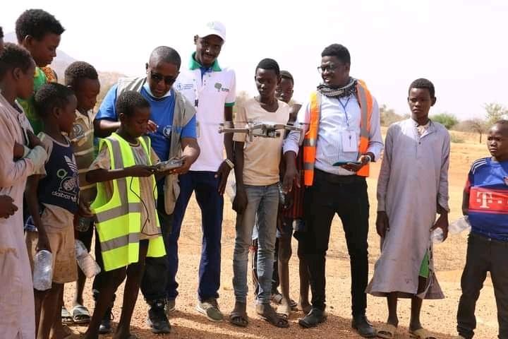 Formation en cartographie et photogrammetrie par drone des étudiants et chercheurs de l'université de N'Djaména