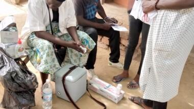 Tchad : la campagne de vaccination contre la rougeole en cours à N'Djamena